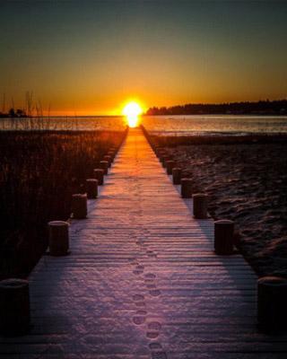 匆匆太匆匆 几度夕阳红